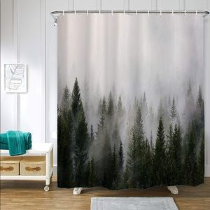 Other - Forest Misty Woods Shower Curtain